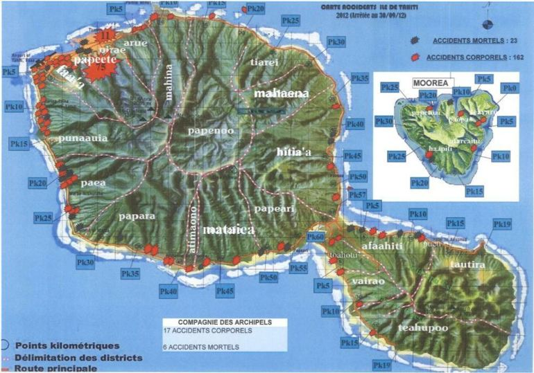 carte-routiere-de-tahiti - Photos