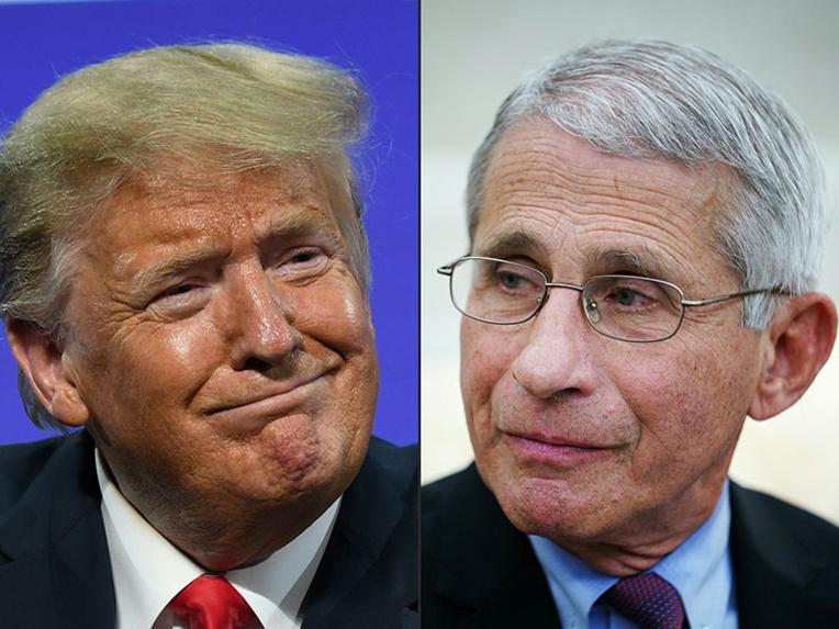 Sur la pandémie, l'Amérique préfère écouter le docteur Fauci plutôt que Trump