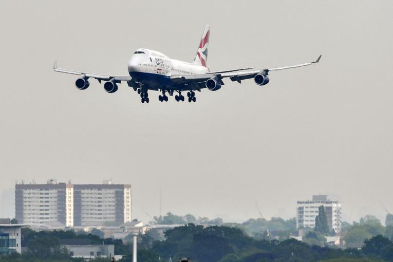 """L'adieu aux """"Jumbo Jets"""": British Airways retire le 747 de sa flotte"""