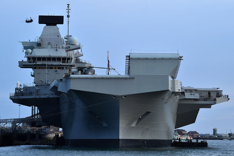 Déploiement d'un porte-avions britannique dans le Pacifique: Pékin met en garde