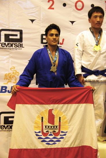 Jiu jitsu Asian Open de Tokyo : 6 médailles dont 3 en or pour les Tahitiens