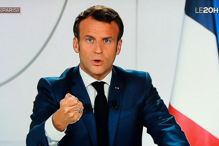 """UE: Macron salue """"le moment le plus important depuis la création de l'euro"""""""