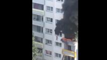 Grenoble: deux enfants sautent de plus de 10 mètres pour échapper aux flammes