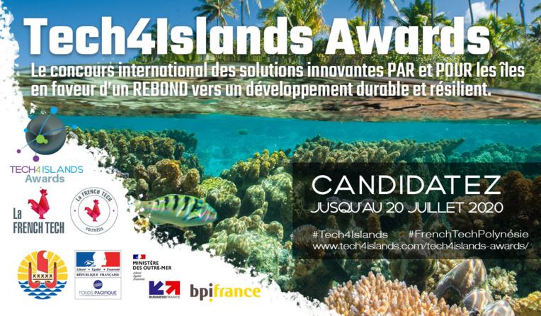 186 candidats de 37 Pays pour le concours Tech4Islands