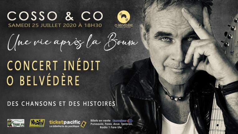 Cosso & Co : un premier concert Ô Belvédère