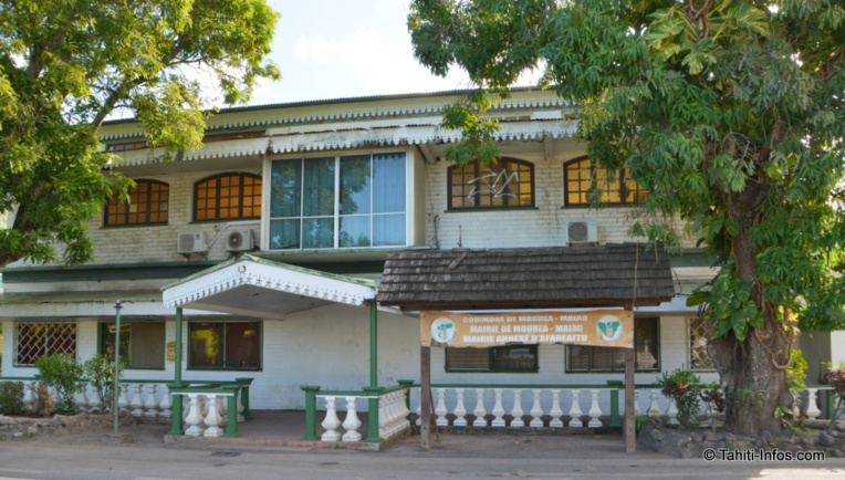 La mairie de Moorea-Maiao