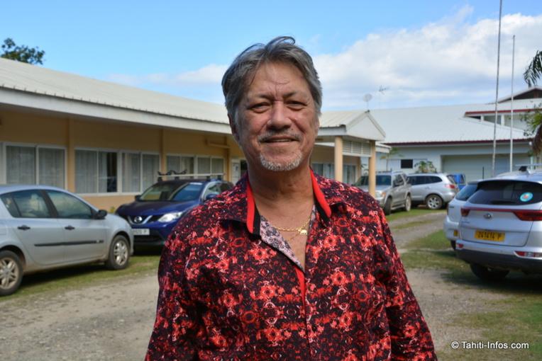 John Toromona, représentant à l'Assemblée et membre du conseil municipal de Moorea