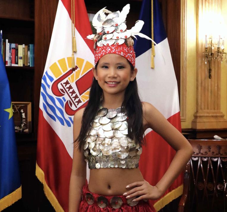 Meleana Tutairi représente Tahiti aux «JO des talents»