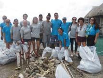 Grand nettoyage à Maharepa