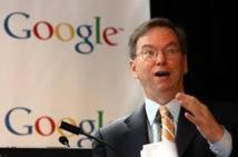 Le président de Google reçu lundi à l'Elysée par François Hollande