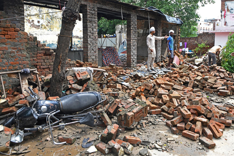 Asie du Sud: plus de 340 morts dans les intempéries de la mousson