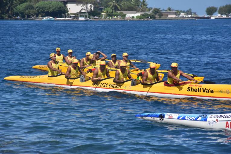 Les deux équipages de Shell Va'a étaient de sortie samedi à l'occasion de la VIP Race.
