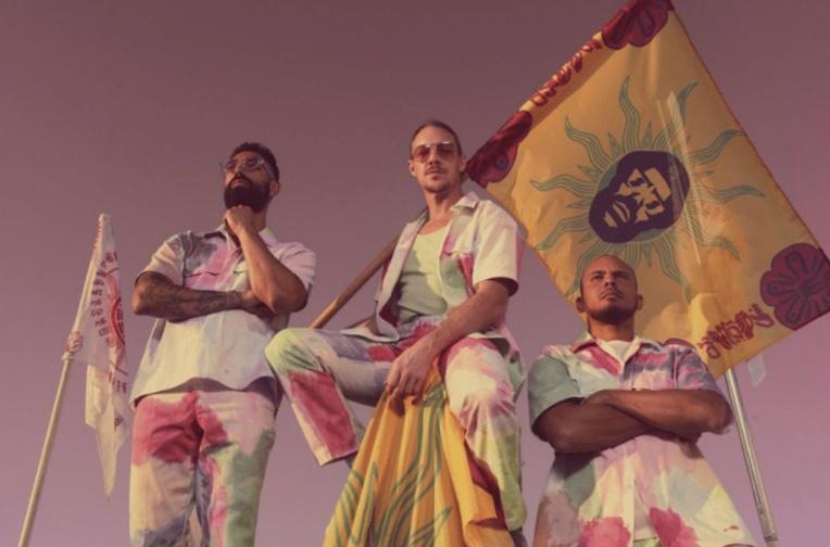Le groupe Major Lazer à Tahiti le 29 août