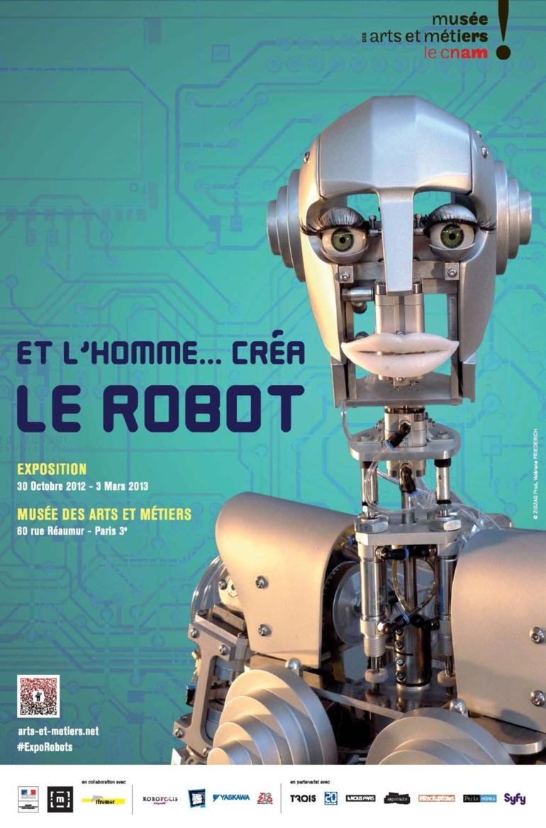 Et l'Homme créa le robot: le meilleur outil de l'homme s'expose à Paris