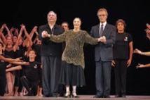 A 91 ans, la Cubaine Alicia Alonso danse au Festival de La Havane