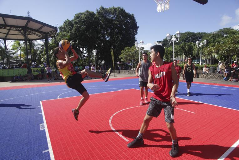 Les jeunes talents ont répondu présent en masse pour la première du Tahiti Nui 3x3 et ont offert des beaux matchs au public.