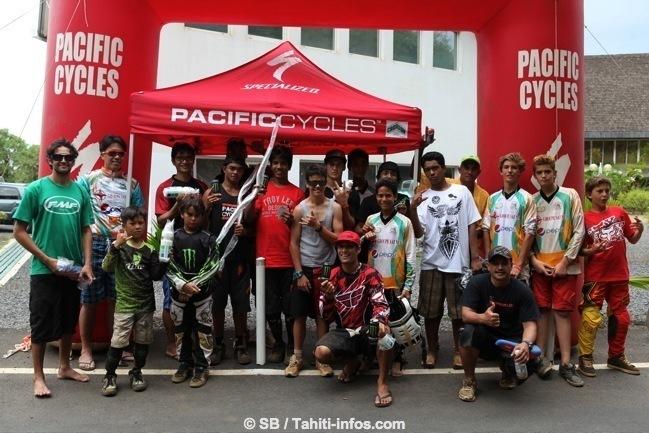 VTT Descente : 1ère manche de la coupe de Tahiti à Te Tavake