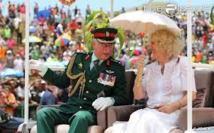 Charles et Camilla en Australie: cricket et course hippique