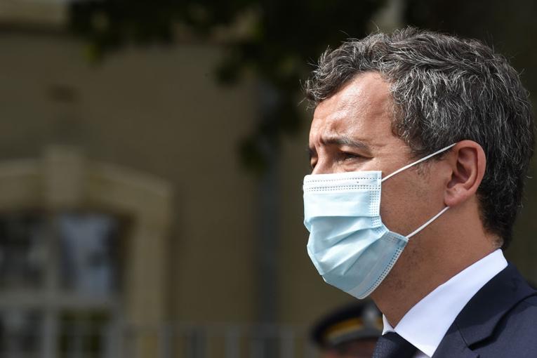 """Hommage de Darmanin au policier tué au Mans : """"refuser l'autorité, voilà le mal de la société"""""""