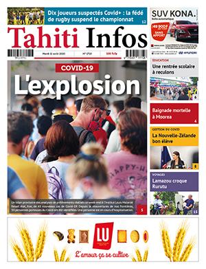 TAHITI INFOS N°1710 du 11 août 2020