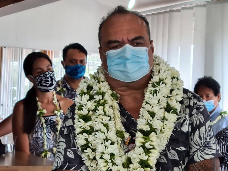 Ernest Teagai rempile au Syndicat intercommunal des Tuamotu Gambier