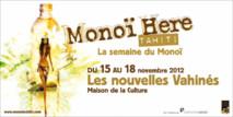 Monoï Here: rendez-vous avec le Monoï du 15 au 18 novembre