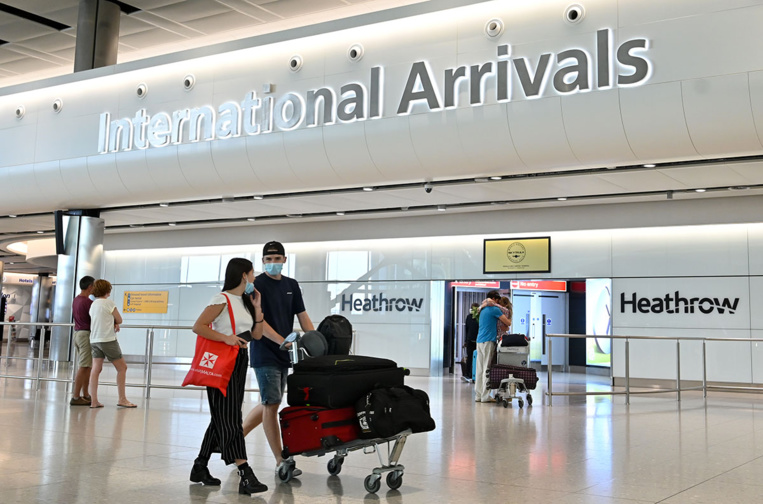 Royaume-Uni : la France et les Pays-Bas ajoutés à la liste des pays dont les citoyens sont soumis à une quarantaine
