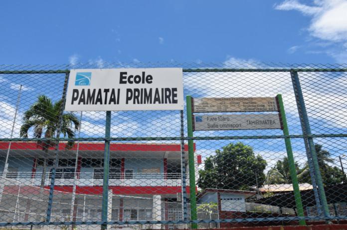 L'école de Pamatai fait sa rentrée lundi