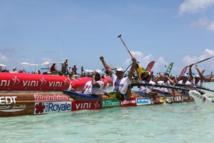 EDT VA'A remporte HawaikiNui Va'a 2012 au terme d'un combat de Titans