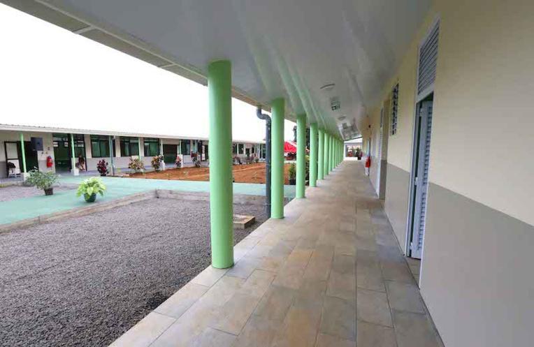 Le lycée John Doom de Taravao fermé jusqu'au 24 août après un cas Covid