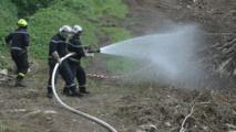 Formation au feu de forêt à Uturoa