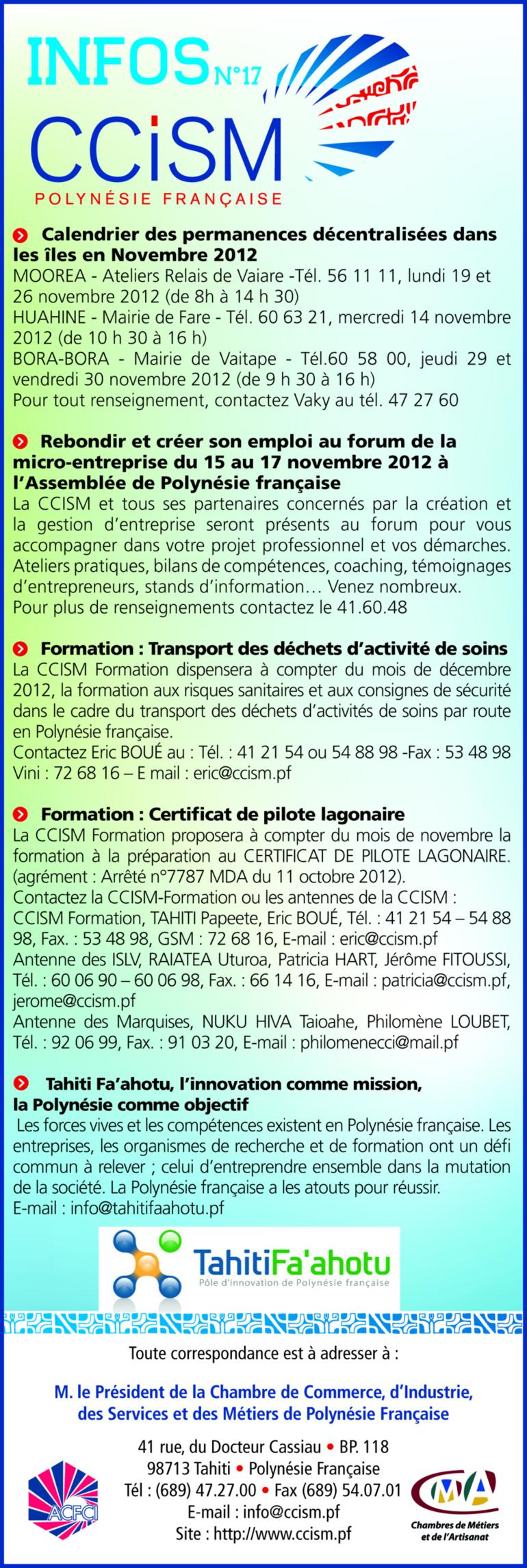Infos CCISM N°17