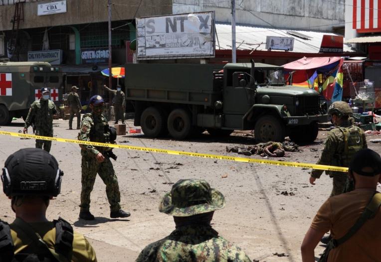 Philippines: au moins 14 morts dans un double attentat à Jolo