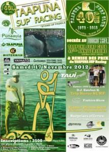 Célébration des 40 ans du Taapuna Surf Club en 2 étapes, Samedi 17 novembre 2012
