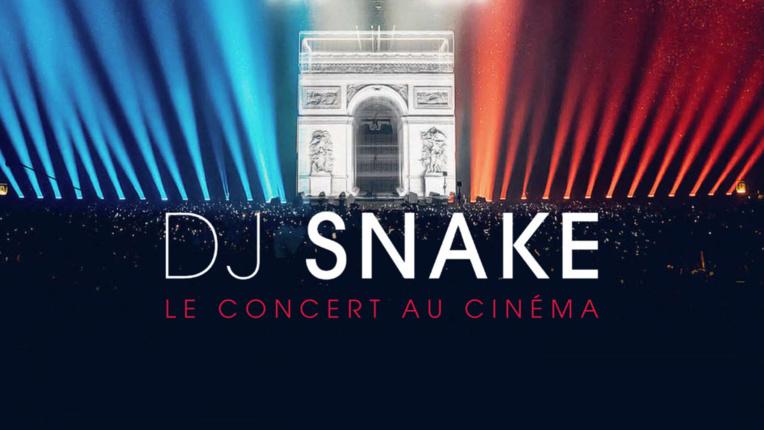Un concert de DJ Snake au cinéma