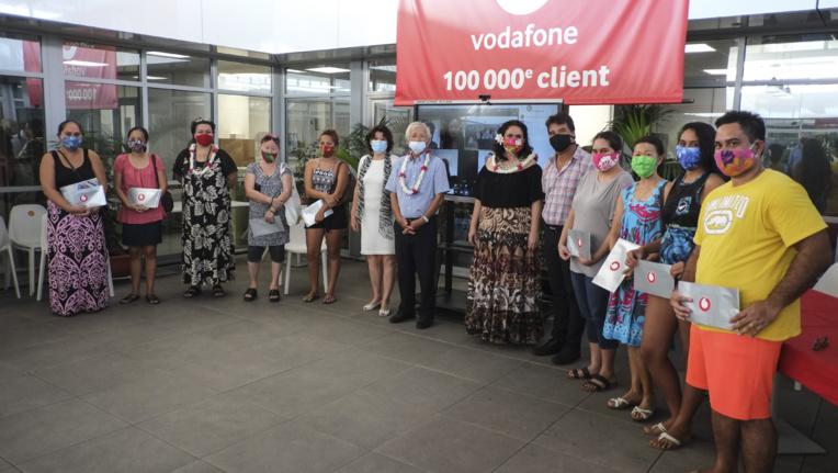 Vodafone solidaire des pensions de famille
