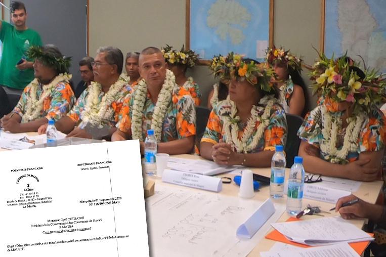 Maupiti démissionne de la Comcom de Hava'i