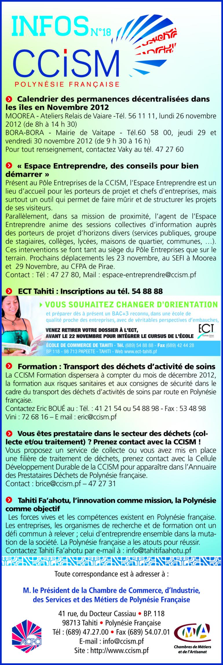 Infos CCISM N°18