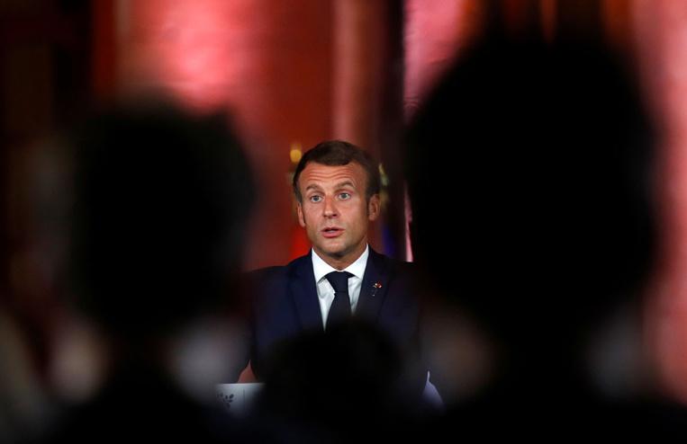 """A Bagdad, Macron soutient la souveraineté de l'Irak face aux ingérences"""""""