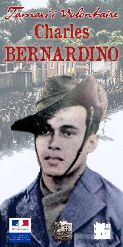 Charles Bernardino, Tamari'i volontaire