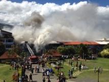 L'incendie de Terii Photo en vidéo et en diaporama