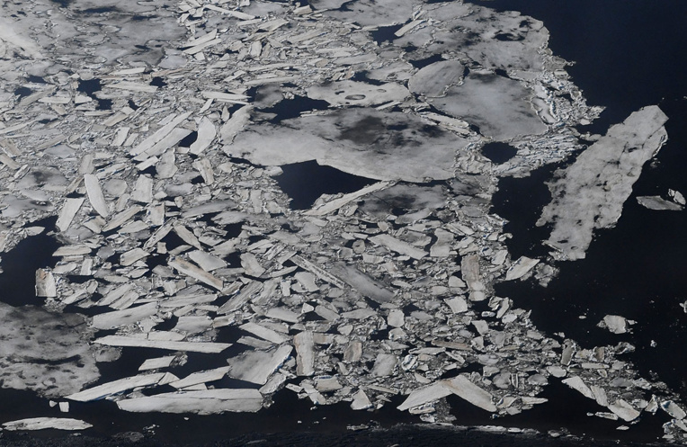 Les glaces de la mer de Béring à leur niveau le plus réduit en 5.500 ans