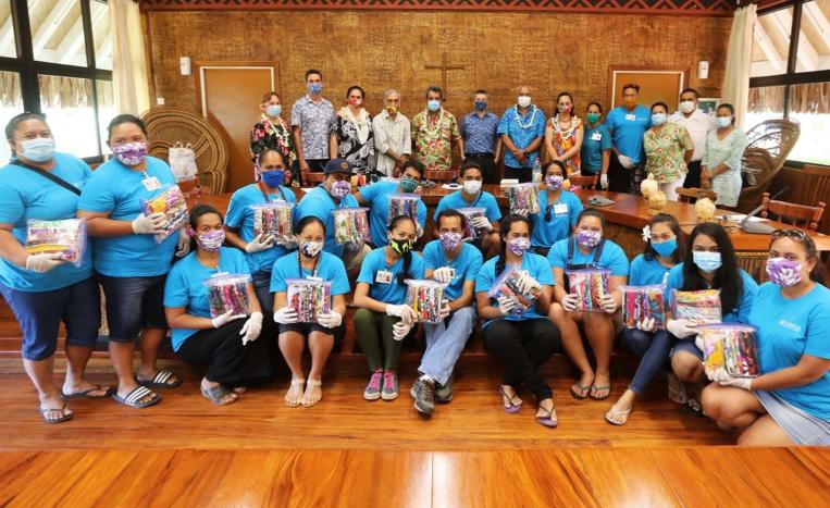 L'opération « Masques solidaires » se poursuit à Faa'a et Punaauia