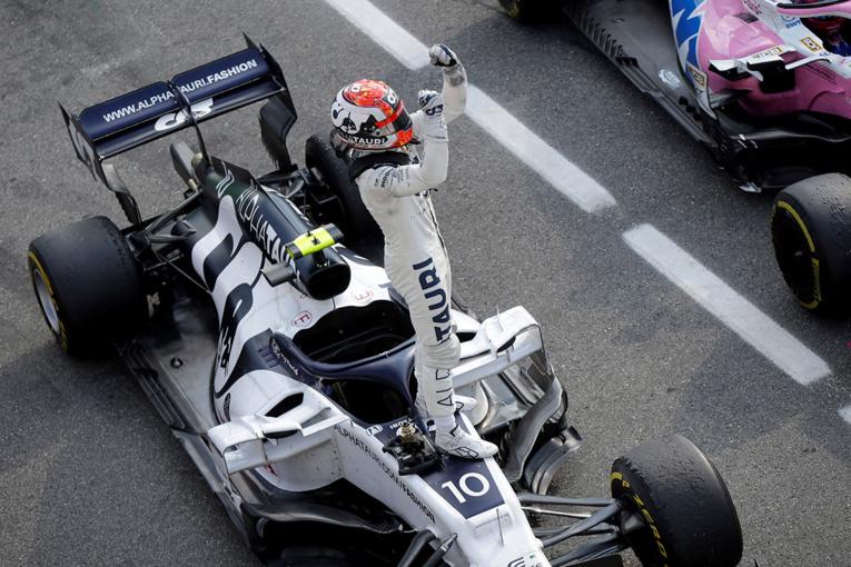 F1: à Monza, Pierre Gasly offre à la France sa première victoire depuis 1996