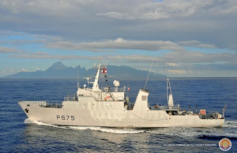 Un navire suspect contrôlé par l'Arago