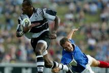 Le rugbyman fidjien Sireli Bobo.