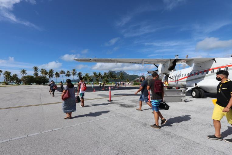 Transfert des aérodromes de Rangiroa, Raiatea et Bora Bora au Pays