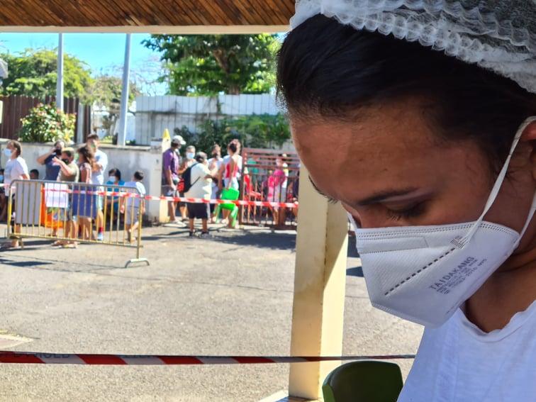 Après la découverte de clusters à Papeete, des campagnes massives de dépistage ont été menées notamment vendredi à Mamao.