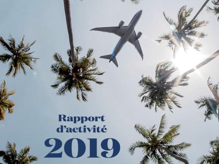 Rapport d'activité 2019 : Air Tahiti Nui avant le Covid