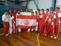 Océania de Taekwondo: déjà 8 médailles et une deuxième place au général pour l'équipe tahitienne